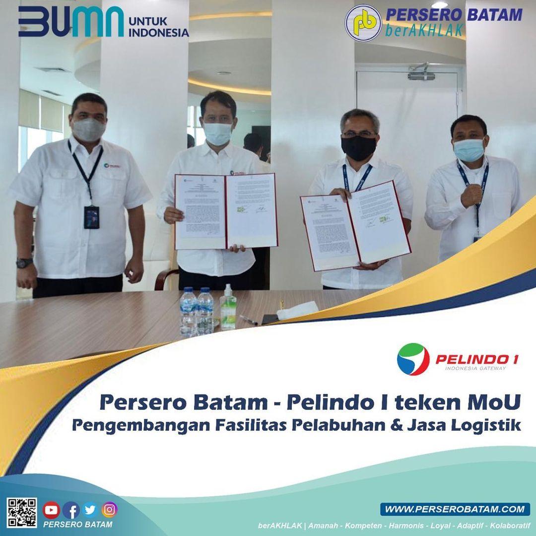 Persero Batam dan Pelindo 1 Teken MoU Pengembagan Fasilitas Pelabuhan & Jasa Logistik